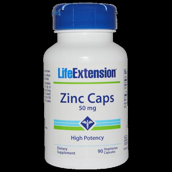 LifeExtension Zinc, 50mg, 90 Caps